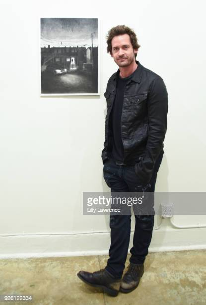 Actor Will Kemp attends Charcoal Collection by Corran Brownlee opening reception on March 1, 2018 in Los Angeles, California.