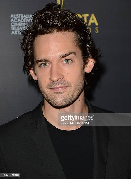 Actor Will Kemp attends the Australian Academy of Cinema and Television Arts' 2nd AACTA International Awards at Soho House on January 26 2013 in West...
