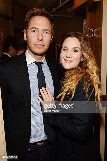 Actor Will Kopelman and actress Drew Barrymore attend as Baby Buggy celebrates 15 years with 'An Evening with Jerry Seinfeld and Amy Schumer'...