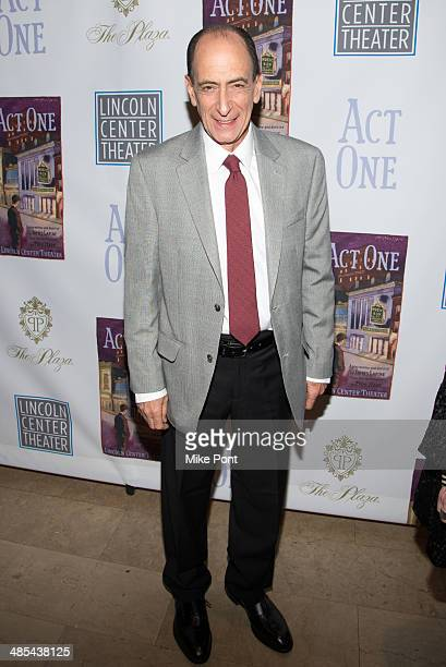 Actor Will LeBow attends the opening night party for Act One at The Plaza Hotel on April 17 2014 in New York City
