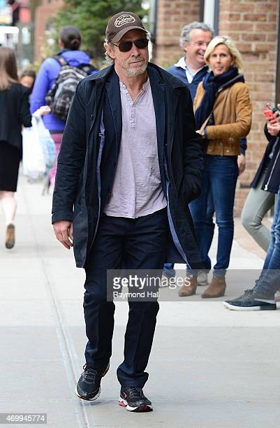Actor Will Patton is seen walking in Soho on April 16 2015 in New York City