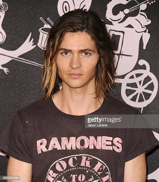 Actor Will Peltz attends the Coach Backstage Rodeo Drive store opening celebration at Coach Boutique on December 11 2014 in Beverly Hills California