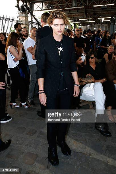 Actor Will Peltz attends the Givenchy Menswear Spring/Summer 2016 show as part of Paris Fashion Week on June 26 2015 in Paris France