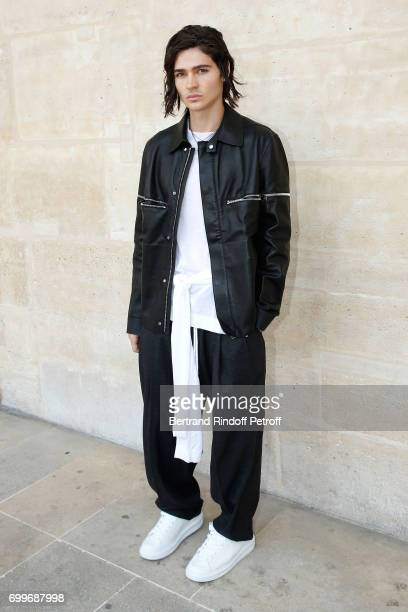 Actor Will Peltz attends the Louis Vuitton Menswear Spring/Summer 2018 show as part of Paris Fashion Week on June 22 2017 in Paris France