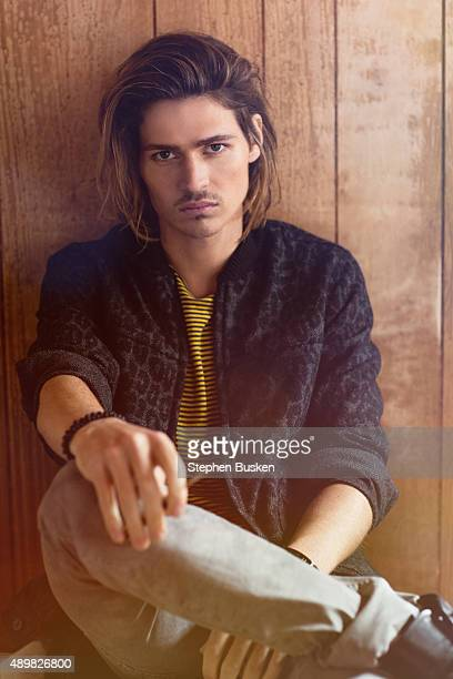 Actor Will Peltz is photographed for Glamoholic on April 15 2015 in Malibu California