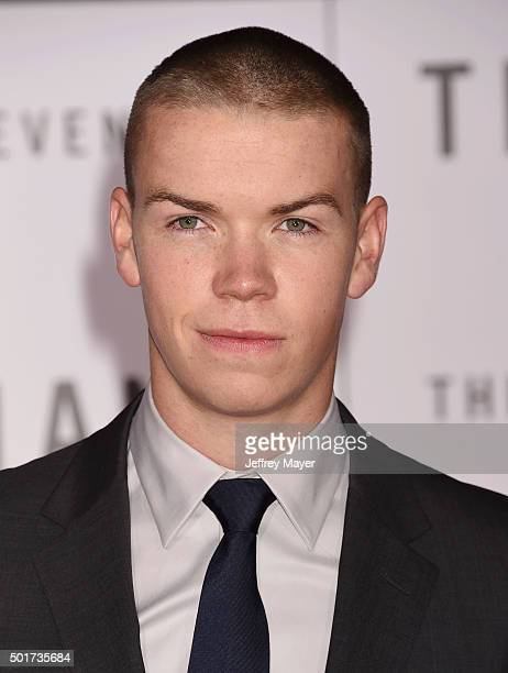 Actor Will Poulter arrives at the Premiere of 20th Century Fox And Regency Enterprises' 'The Revenant' at TCL Chinese Theatre on December 16 2015 in...
