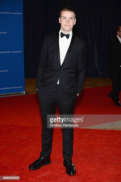 Actor Will Poulter attends the 100th Annual White House Correspondents' Association Dinner at the Washington Hilton on May 3 2014 in Washington DC