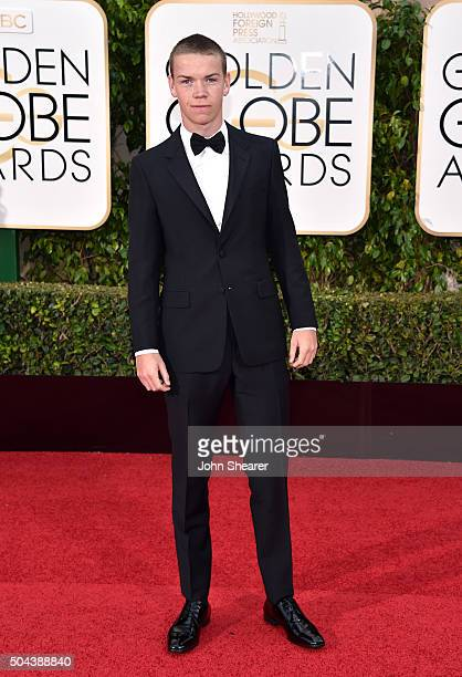 Actor Will Poulter attends the 73rd Annual Golden Globe Awards held at the Beverly Hilton Hotel on January 10 2016 in Beverly Hills California