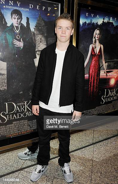 Actor Will Poulter attends the European Premiere of 'Dark Shadows' at Empire Leicester Square on May 9 2012 in London England