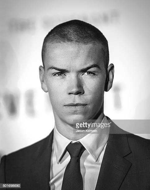 Actor Will Poulter attends the premiere of 20th Century Fox's The Revenant at TCL Chinese Theatre on December 16 2015 in Hollywood California