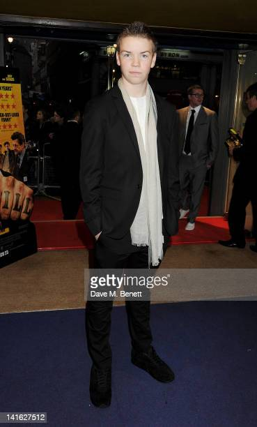 Actor Will Poulter attends the premiere of 'Wild Bill' at Cineworld Haymarket on March 20 2012 in London England