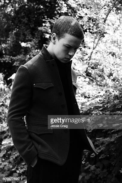 Actor Will Poulter is photographed for Monrowe magazine on July 21 2015 in London England