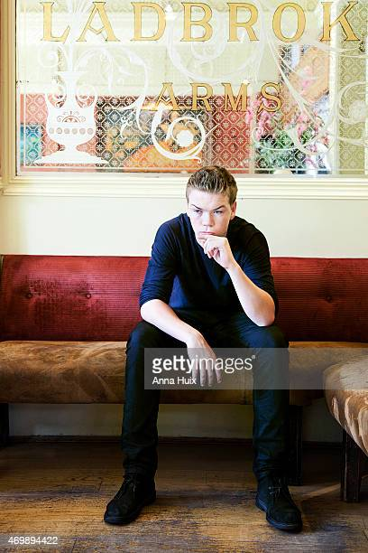 Actor Will Poulter is photographed for the Independent on August 07 2013 in London England
