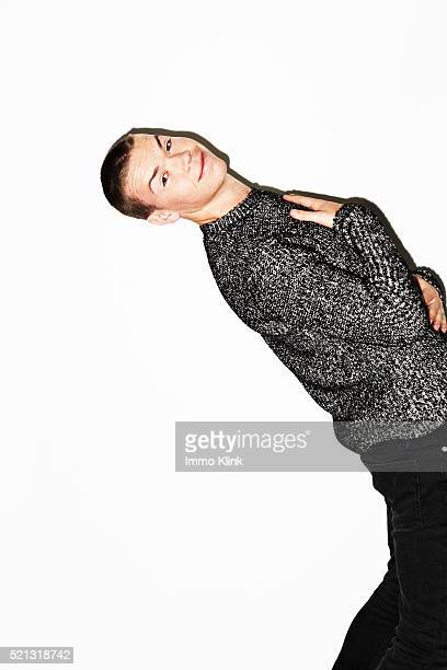 Actor Will Poulter is photographed for the Independent on January 15 2016 in London England