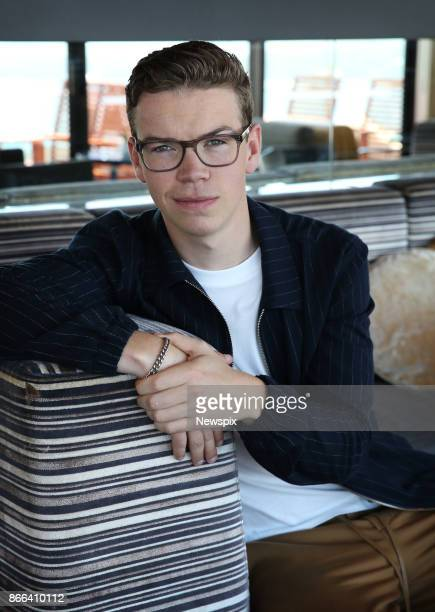 SYDNEY NSW Actor Will Poulter poses during a photo shoot in Sydney New South Wales The actors were in Sydney to promote their new movie 'Detroit'