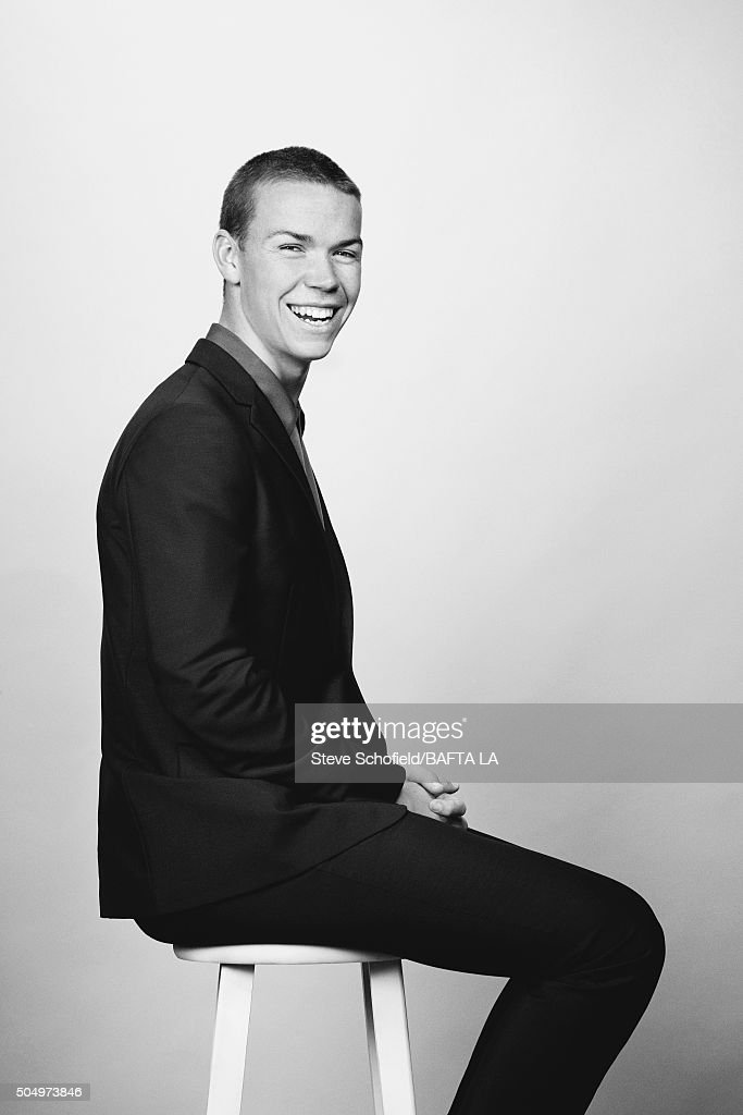 Actor Will Poulter poses for a portrait at the BAFTA Los Angeles Awards Season Tea at the Four Seasons Hotel on January 9, 2016 in Los Angeles, California.