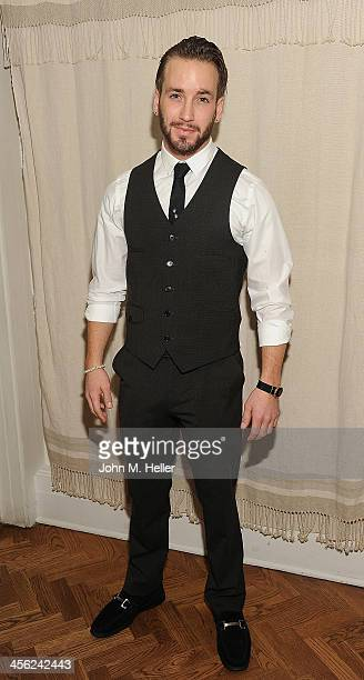 Actor Will Rothhaar poses for pictures before the British American Business Council's 54th Annual Los Angeles Christmas Luncheon takes place at the...