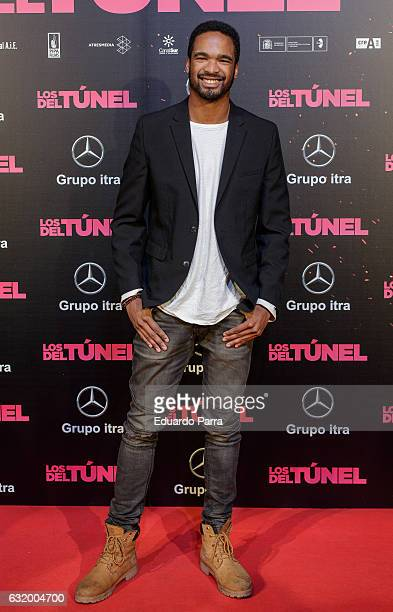 Actor Will Shephard attends 'Los del Tunel' premiere at Capitol cinema on January 18 2017 in Madrid Spain