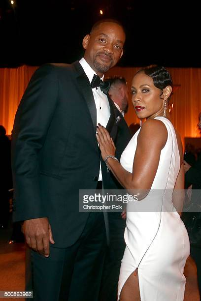 Actor Will Smith and actress Jada Pinkett Smith attend the 2nd Annual Diamond Ball hosted by Rihanna and The Clara Lionel Foundation at The Barker...