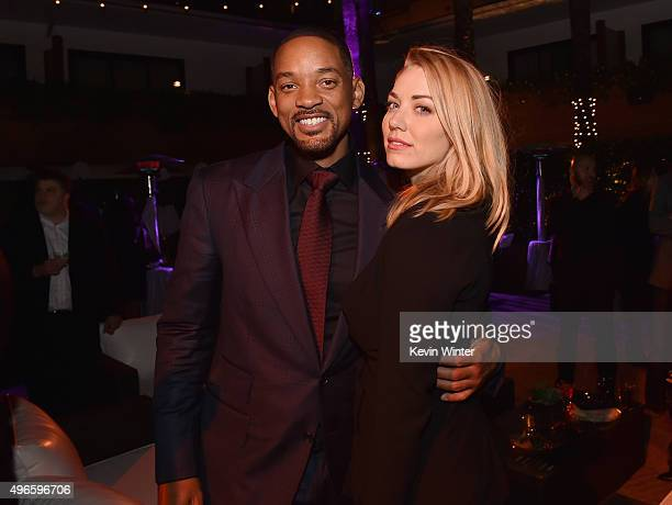 Actor Will Smith and Actress Sara Lindsey attend the after party for the Centerpiece Gala Premiere of Columbia Pictures' 'Concussion' during AFI FEST...