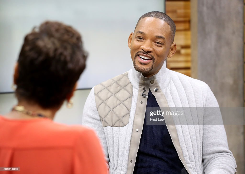 AMERICA - Actor Will Smith and Chris Stapleton are the guests today, Tuesday, December 15, 2015 on ABC's 'Good Morning America.' 'Good Morning America' airs Monday - Friday (7-9am, ET) on the ABC Television Network. ROBIN