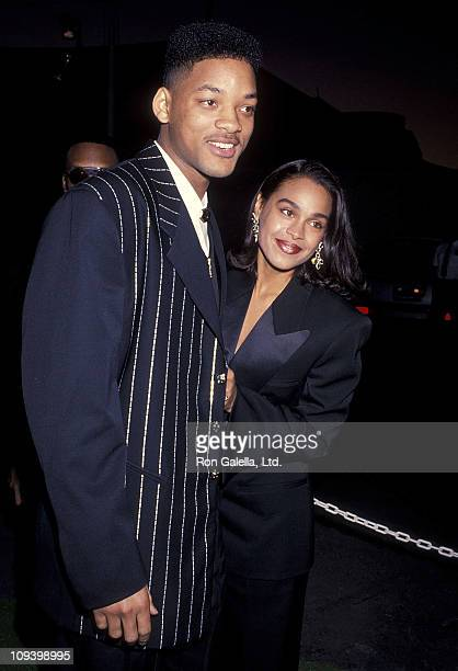 Actor Will Smith and girlfriend Sheree Zampino attend the 24th Annual NAACP Image Awards on January 11, 1992 at Wiltern Theatre in Los Angeles,...