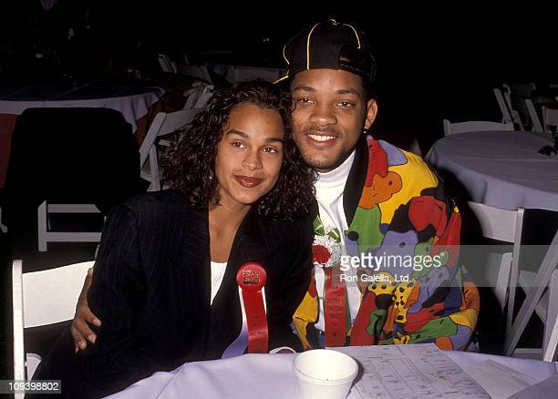 Actor Will Smith and girlfriend Sheree Zampino attend the 60th Annual Hollywood Christmas Parade on December 1 1991 at KTLA Studios in Hollywood...