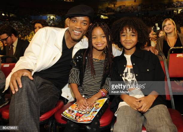 Actor Will Smith and guests during Nickelodeons 2008 Kids Choice Awards held at the Pauley Pavilion on March 29 2008 in Westwood California