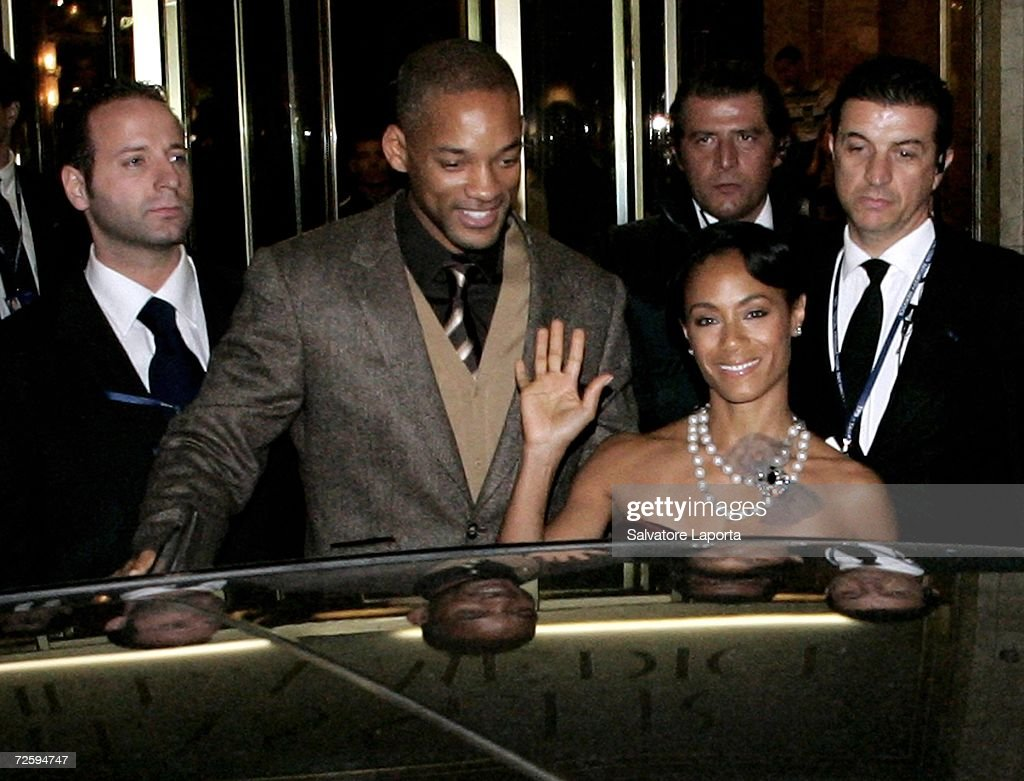 Actor Will Smith L And Wife Jada Pinkett Leave The Hassler Hotel