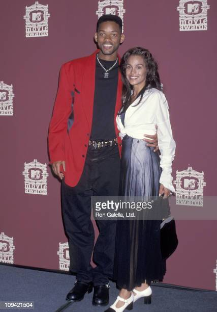 Actor Will Smith and wife Sheree Smith attend the Third Annual MTV Movie Awards on June 4, 1994 at Sony Pictures Studios in Culver City, California.