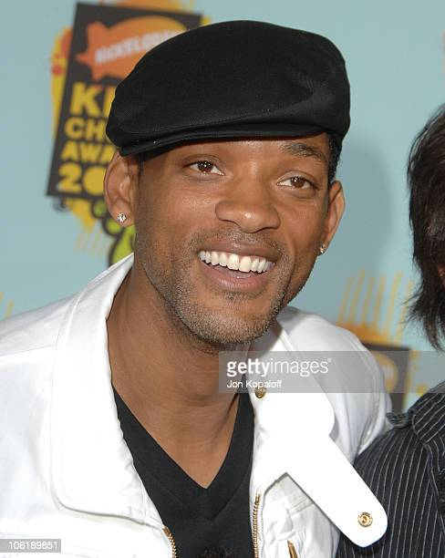 Actor Will Smith arrives at Nickelodeon's 2008 Kids' Choice Awards at the Pauley Pavilion on March 29 2008 in Los Angeles California