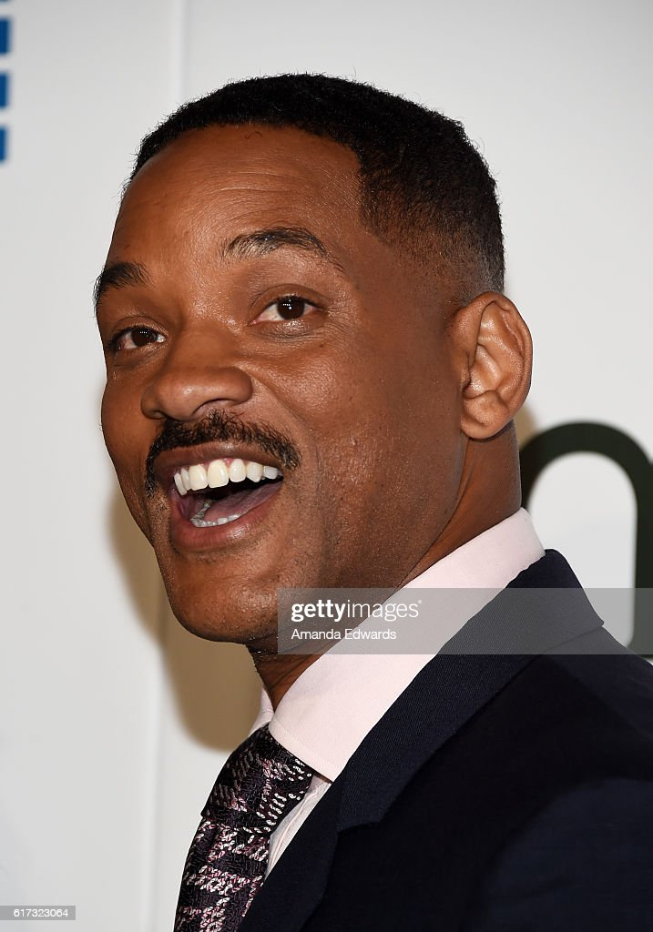 Actor Will Smith arrives at the 26th Annual EMA Awards at Warner Bros. Studios on October 22, 2016 in Burbank, California.