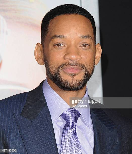 Actor Will Smith arrives at the Los Angeles Premiere 'Focus' at TCL Chinese Theatre on February 24 2015 in Hollywood California