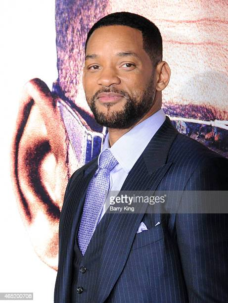 Actor Will Smith arrives at the Los Angeles World Premiere Of Warner Bros Pictures 'Focus' at TCL Chinese Theatre on February 242015 in Hollywood...
