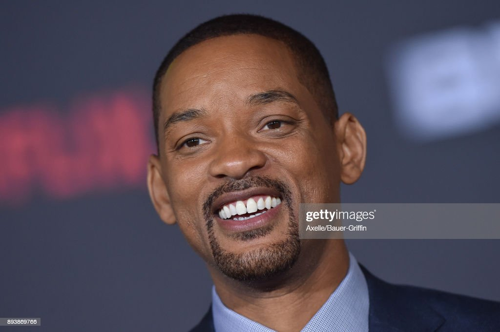 Actor Will Smith arrives at the premiere of Netflix's 'Bright' at Regency Village Theatre on December 13, 2017 in Westwood, California.