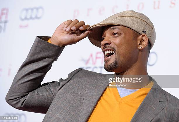 Actor Will Smith arrives at the screening of 'Precious Based On The Novel 'PUSH' By Sapphire' during AFI FEST 2009 held at Grauman's Chinese Theatre...