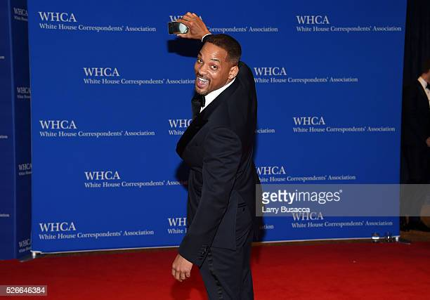 Actor Will Smith attend the 102nd White House Correspondents' Association Dinner on April 30 2016 in Washington DC