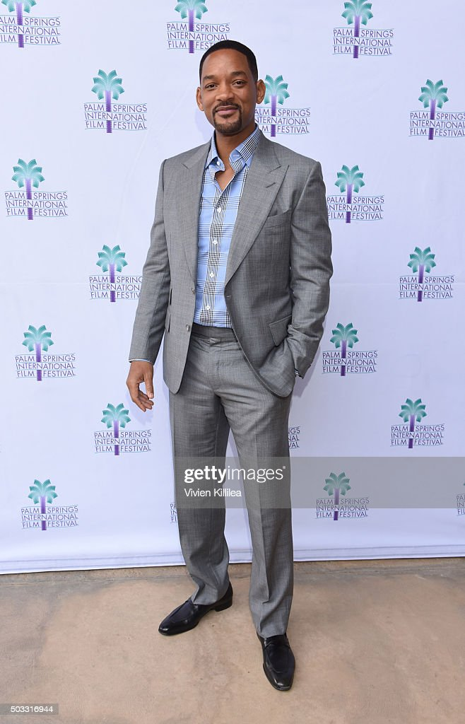Actor Will Smith attends a screening of 'Concussion' at the 27th Annual Palm Springs International Film Festival on January 3, 2016 in Palm Springs, California.