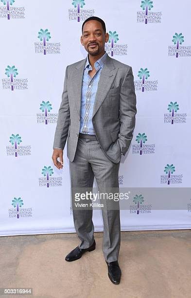 Actor Will Smith attends a screening of 'Concussion' at the 27th Annual Palm Springs International Film Festival on January 3 2016 in Palm Springs...