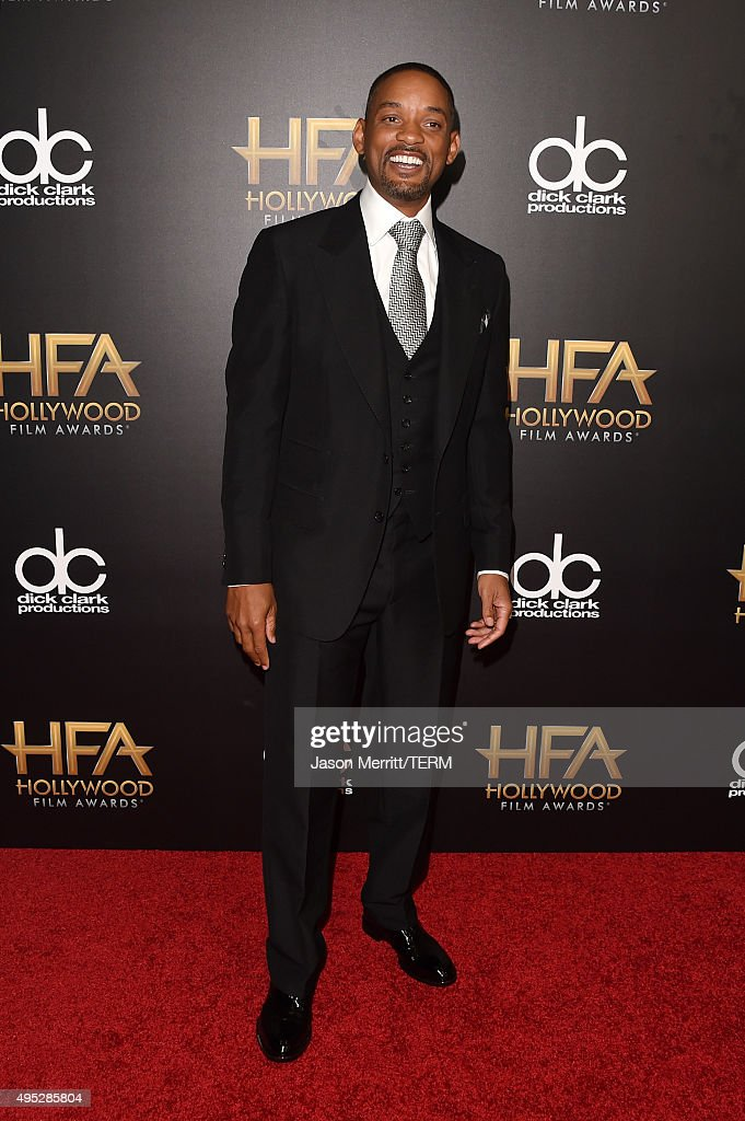 Actor Will Smith attends the 19th Annual Hollywood Film Awards at The Beverly Hilton Hotel on November 1, 2015 in Beverly Hills, California.