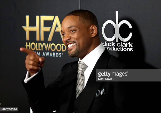 Actor Will Smith attends the 19th Annual Hollywood Film Awards at The Beverly Hilton Hotel on November 1 2015 in Beverly Hills California