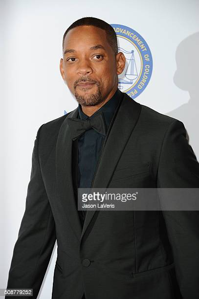 Actor Will Smith attends the 47th NAACP Image Awards at Pasadena Civic Auditorium on February 5 2016 in Pasadena California