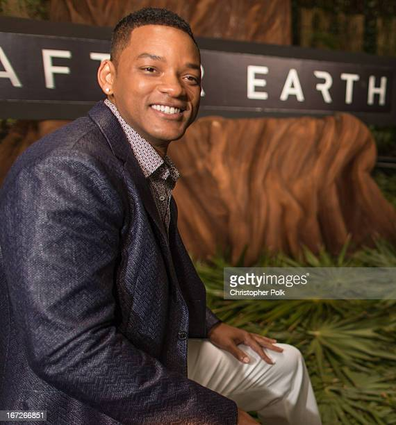 Actor Will Smith attends the After Earth photo call at The 5th Annual Summer Of Sony at the Ritz Carlton Hotel on April 23 2013 in Cancun Mexico