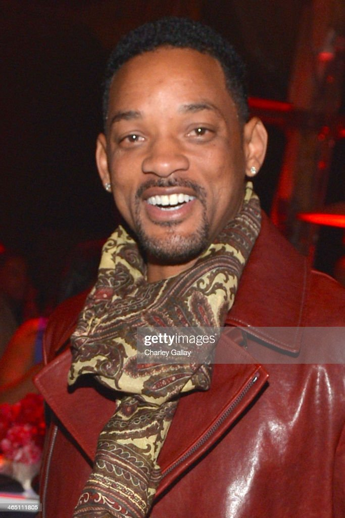 Actor Will Smith attends the annual Midnight Grammy Brunch hosted by Ne-Yo and Malibu Red at Lure Nightclub on January 26, 2014 in Hollywood, California.