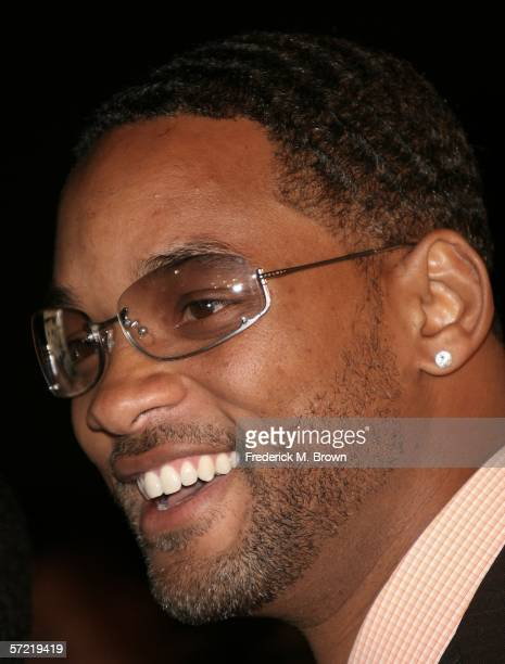 Actor Will Smith attends the ATL film premiere at Grauman's Chinese Theater on March 30 2006 in Hollywood California