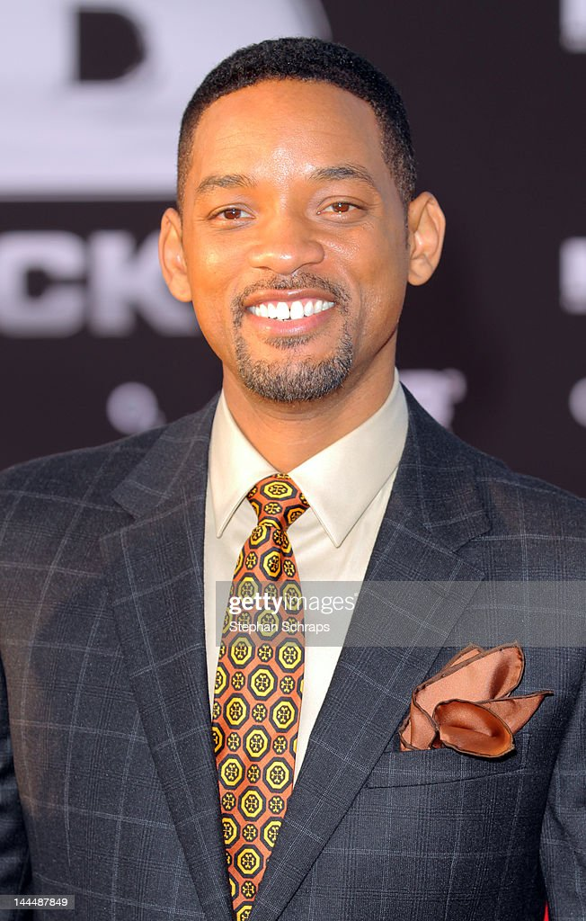 Actor Will Smith attends the 'Men In Black 3' German premiere at O2 World, Muehlenstrasse, on May 14, 2012 in Berlin, Germany.