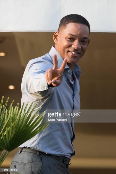 Actor Will Smith attends the official jury dinner of the 70th Annual Cannes Film Festival at Martinez Hotel on May 16 2017 in Cannes France