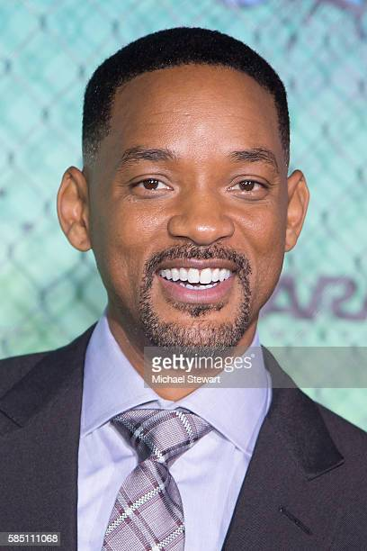 Actor Will Smith attends the 'Suicide Squad' world premiere at The Beacon Theatre on August 1 2016 in New York City