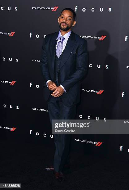 """Actor Will Smith attends the Warner Bros. Pictures' """"Focus"""" premiere at TCL Chinese Theatre on February 24, 2015 in Hollywood, California."""