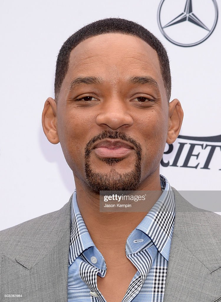 Actor Will Smith attends Variety's Creative Impact Awards and 10 Directors to Watch Brunch Presented By Mercedes-Benz at The 27th Annual Palm Springs International Film Festival on January 3, 2016 in Palm Springs, California.
